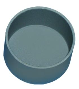 Pyrographite crucible Ø35